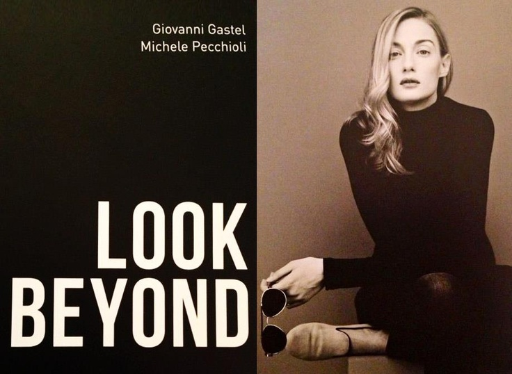 Eva Riccobono shot by Gastel for a project with 'Medici Senza Frontiere', wearing Cb's.