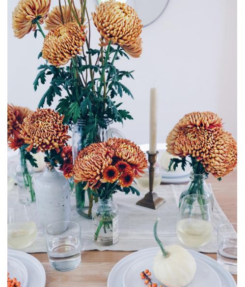 Les meilleures decorations de mariage en automne 1