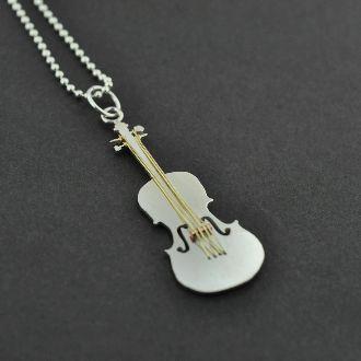 Jem's Violin Pendant