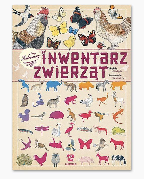 Ilustrowany inwentarz zwierząt - Natuli - księgarnia dla dzieci i rodziców