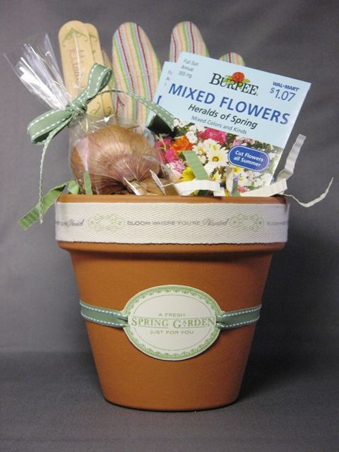 What a lovely alternative idea for easter or spring birthdays - I have a few small teracotta pots I didnt know what to do with...........