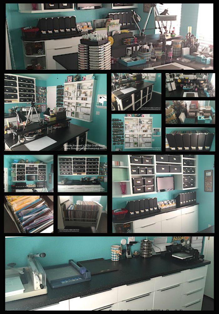 De 10 b sta id erna om ikea craft room p pinterest for Storage room plan