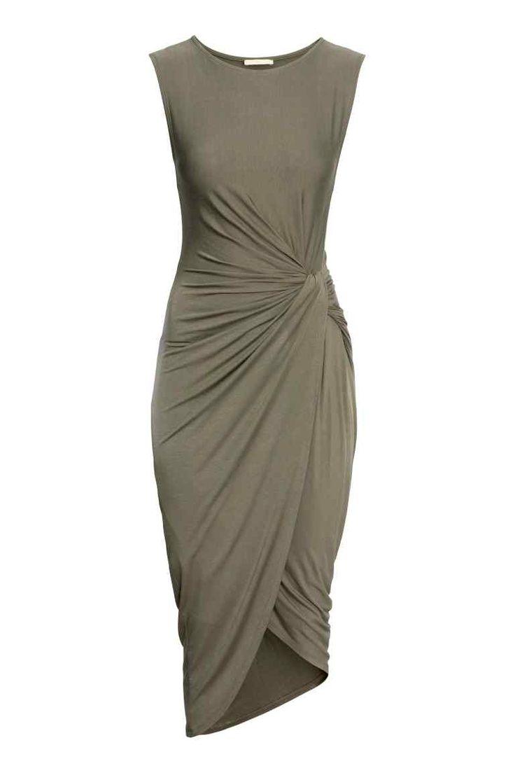 Vestido drapeado | H&M                                                                                                                                                                                 Mais