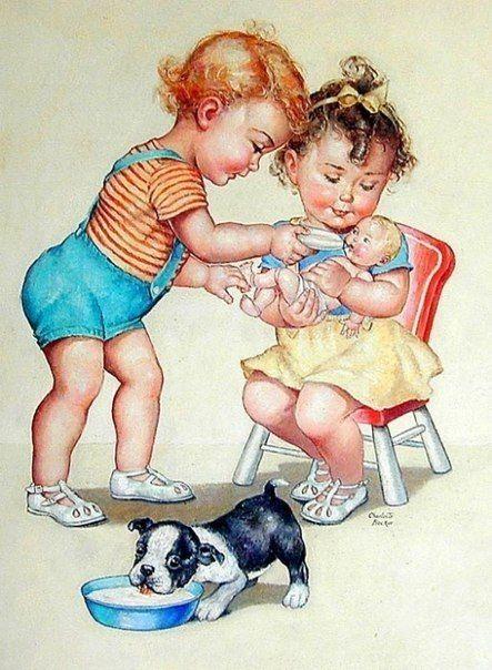 Медицинской, смешные детки картинки художников