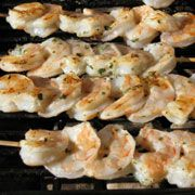 Shrimp on the Barbee - marinate, grill, enjoy!  http://www.wbtv.com/story/4324660/shrimp-on-the-barbee