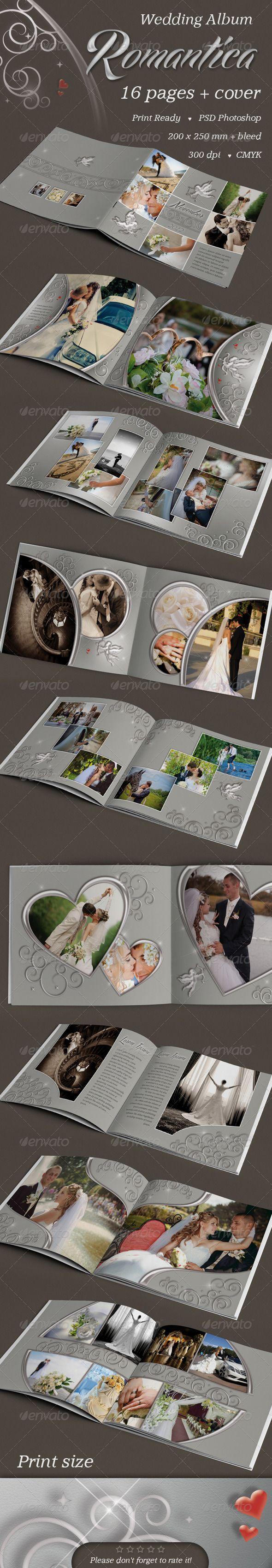 88 best Wedding Photo Album Template images on Pinterest | Photo ...