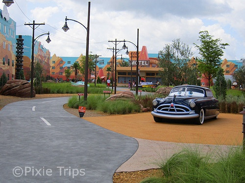 Art of Animation Cars Wing.   PixieTripsTravel.com