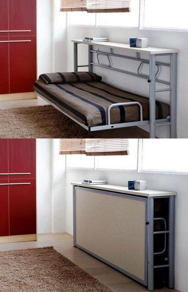 17 Brilliant Folding Bed Ideas For Small Space Idees De Lit Meuble Lits Pliants