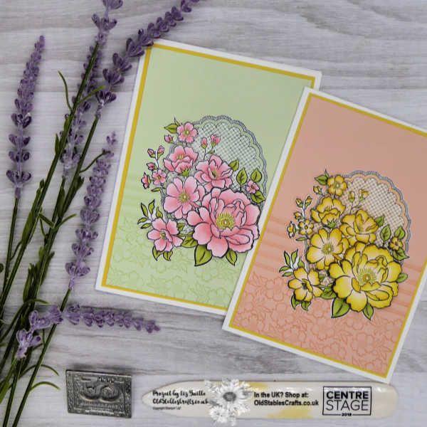 Campanula Flowers Foil 3D Decoupage Die Cut