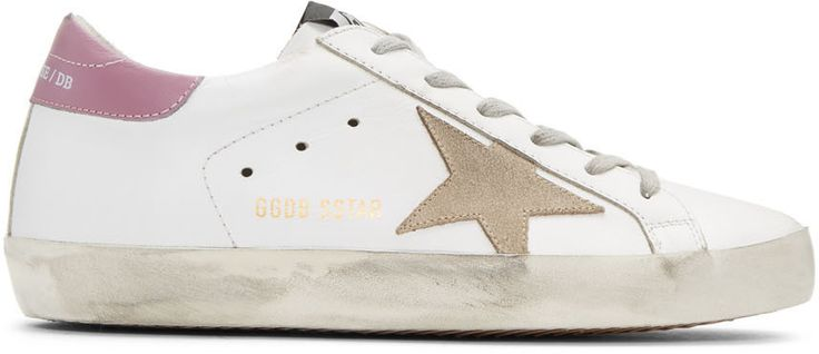 Ports 1961 SSENSE Exclusive White Leather Superstar Sneakers JF4br8r6