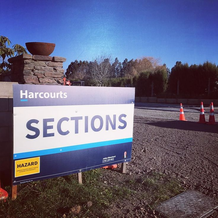 Thanks @signnetwork for my great new subdivision signs! #realestate #timaru #oceanview #harcourts