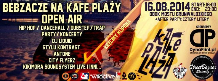16/08 Open Air Party @ Cafe Plaza