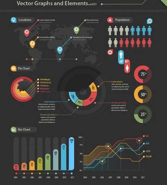 elementy do infografiky...