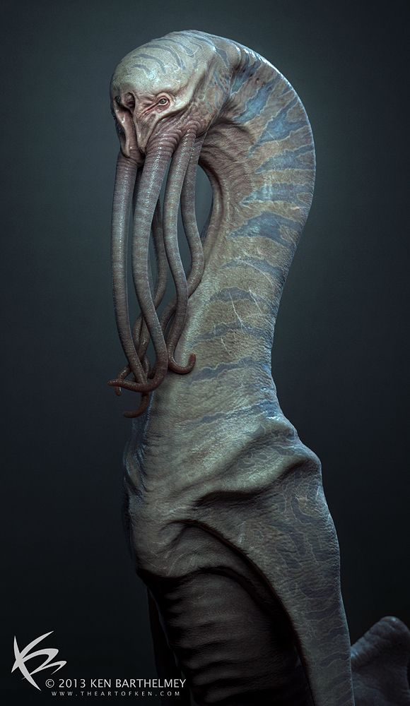 Creature Design by KENBARTHELMEY.deviantart.com on @deviantART