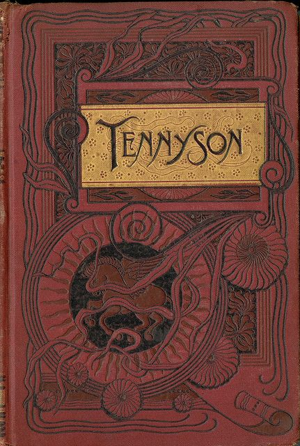 Tennyson Cover Book Art Vintage Covers