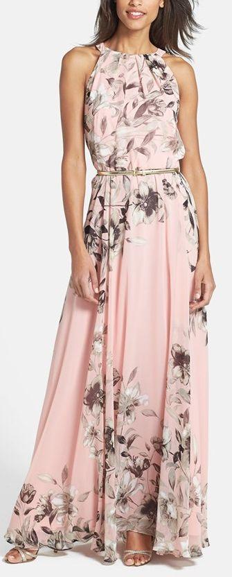 Lindo vestido maxi ✿⊱╮