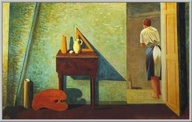 Mario Tozzi. 1934 La Finestra Aperta sul Cielo