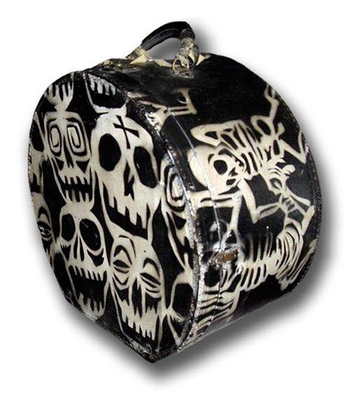 Desperately Seeking Susan Skull Suitcase