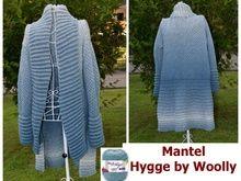 """Mantel """"Hygge by Woolly"""" aus Woolly Hugs CLOUD stricken"""