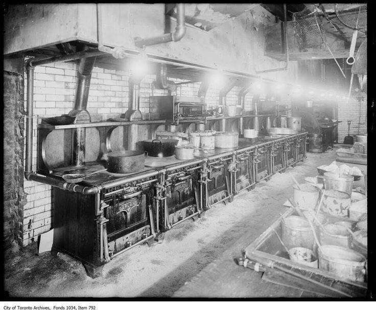 Kitchen of King Edward Hotel, Toronto ca. 1916