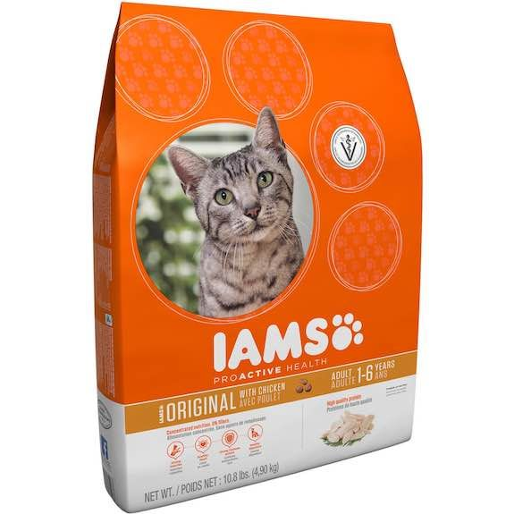 Iams Dry Cat Food 3.5lb Bags Only $3.25/Each At Walgreens!