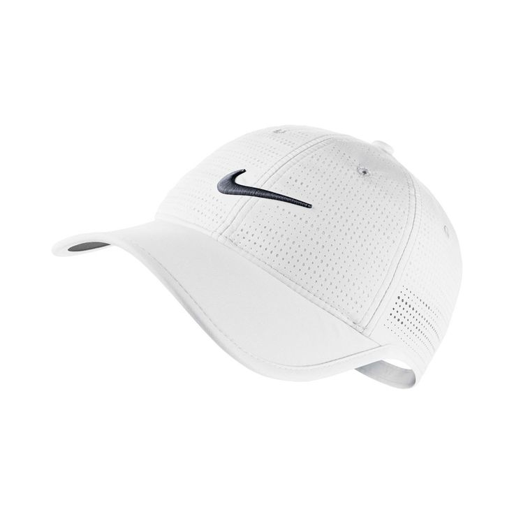 Nike Ladies Perf Golf Cap - White - with Free Delivery
