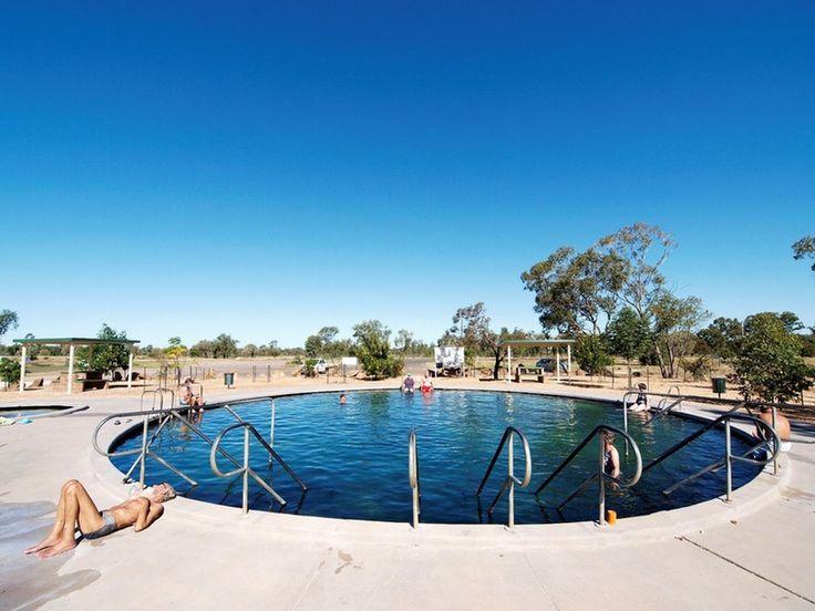 The Famous Lightning Ridge Hot Artesian Baths.