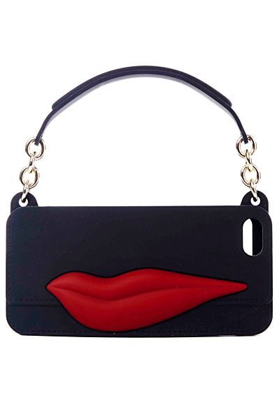 I had a pair of hot pants with purple lips - this is such a fun bag!  Diane von Furstenberg - Bags - 2014 Spring-Summer