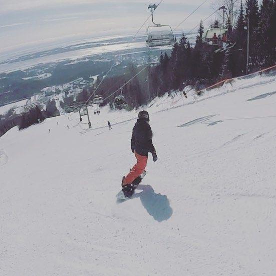 Mont Ste-Anne❤️ #MSA #DCoutfit #burtonsnowboard #burton #gopro #sommetsstlaurent