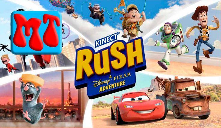 ИГРА в РАТАТУЙ и ГОНКИ на иксбокс 360 kinect rush disney pixar xbox 360 ...