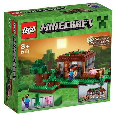 "Lego Minecraft 21115 - ""The First Night"""