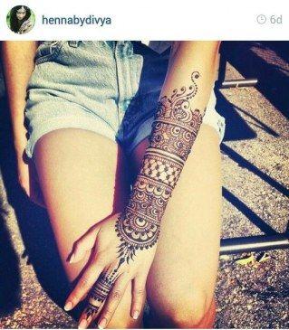 Tatuaże z henny: najpiękniejsze wzory