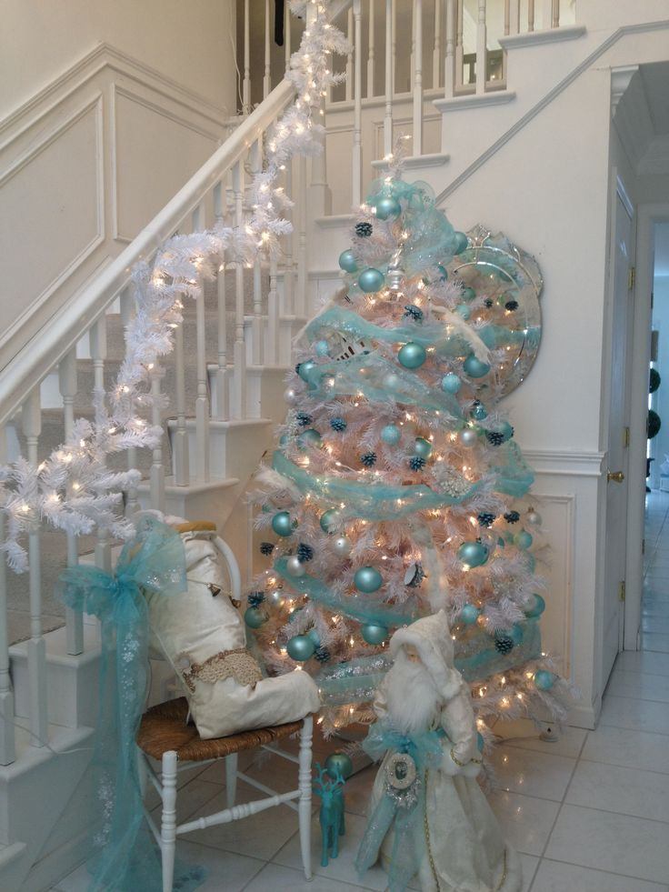 38 Teal Christmas Tree Decorations Ideas Christmas DIY Pinterest