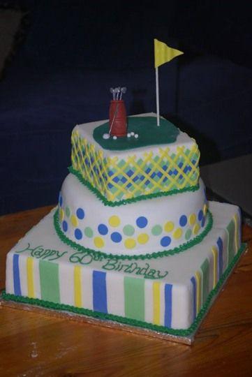 Golf Themed Cake