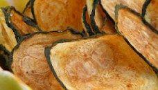 Chips de Calabacines a la Canela
