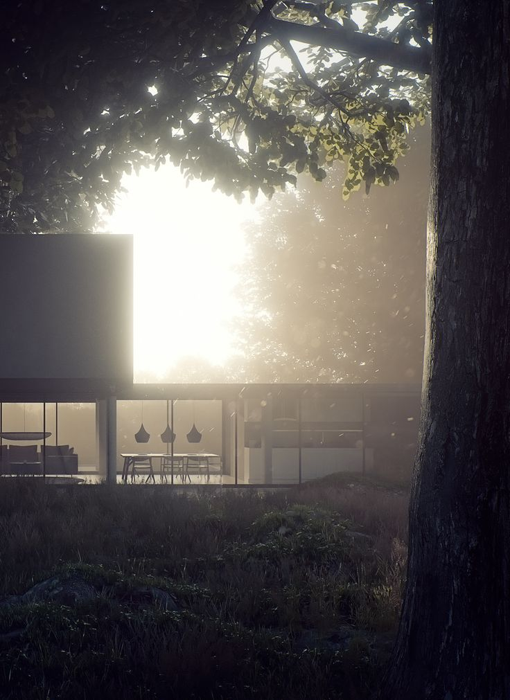 Countryside Hideaway on Behance