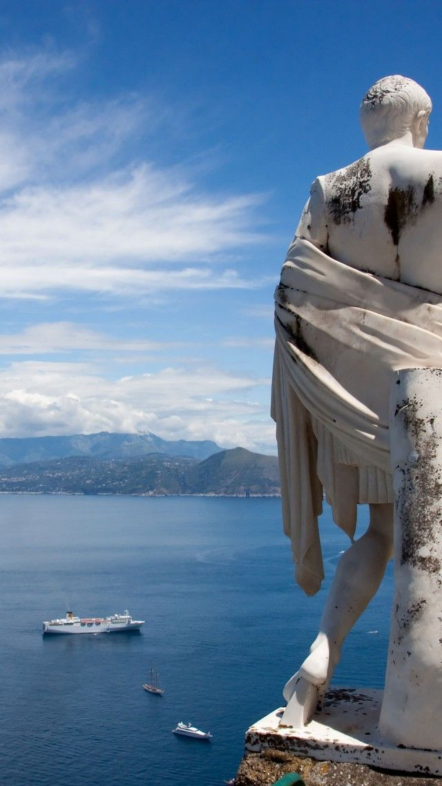 Ceasar Bay Of Capri, Italy