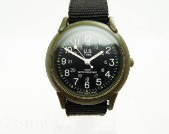 Image result for vintage timex military watch