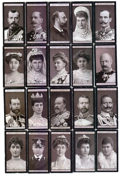 European royals - collage
