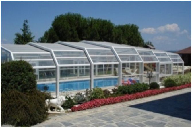 8 best residential retractable swimming pool enclosures - Retractable swimming pool enclosures ...