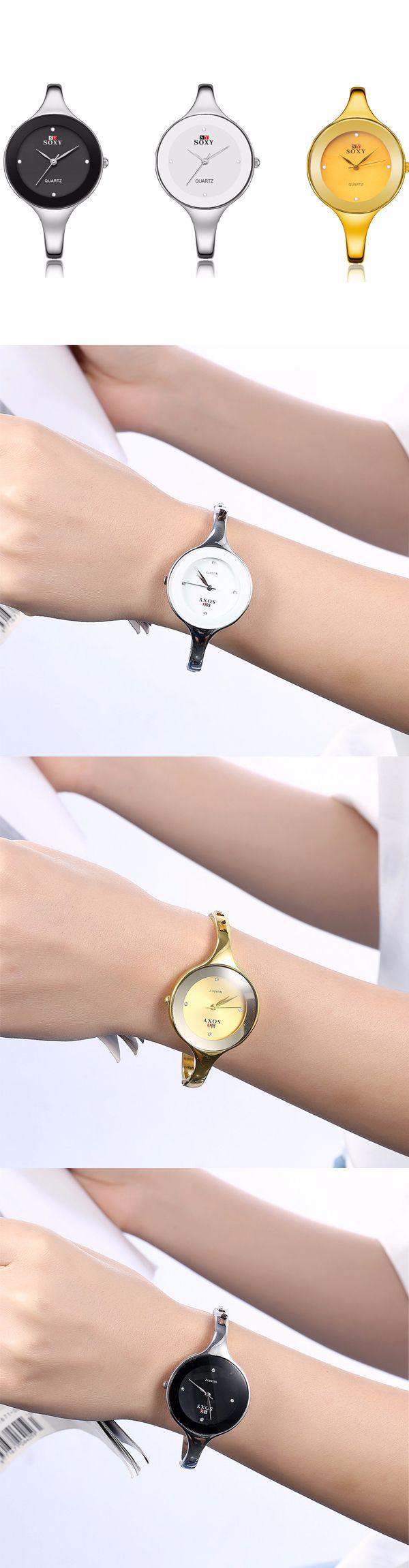 [$ 9.43]   SOXY Women Watch Simple Alloy Luxury Sports Casual Watch
