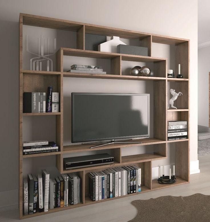 Details zu bed linen is 100 cotton 4 5 pieces color for Bookcase with tv unit