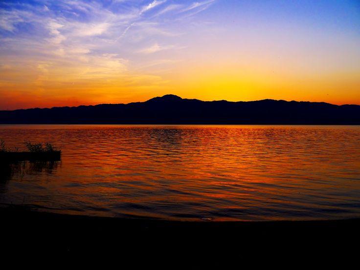 Mt. Hiei and Lake Biwa