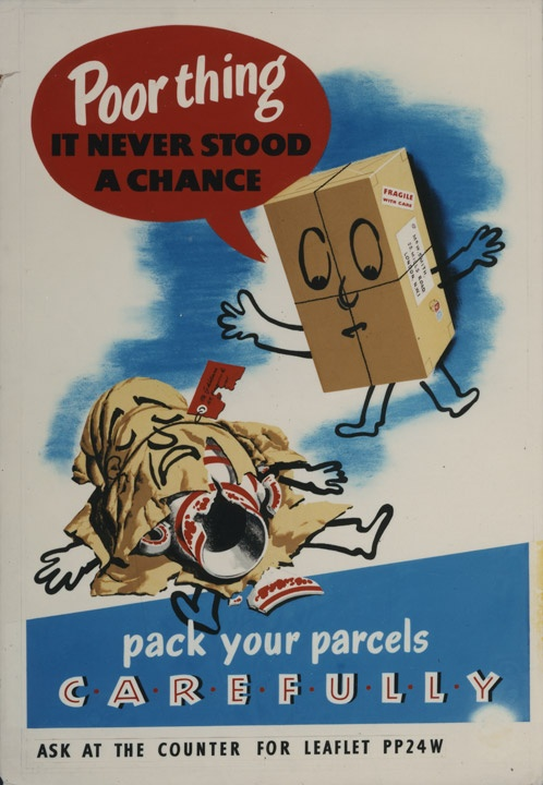 Some good advice on packing parcels from 1953.