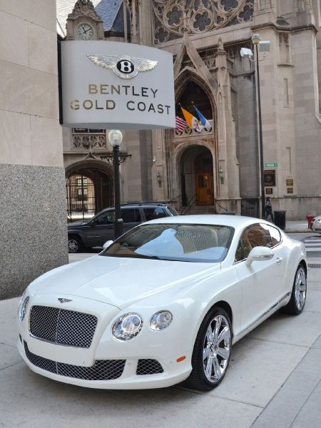Used 2012 Bentley Continental GT-Chicago, IL #Rides
