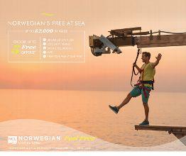 Free at Sea Nov 1-30 - Promotion Contact Mi Amor Eternal Travel, your professional travel advisors, today! travel.MiAmorEternal.com   (888) 8-E-Mi-Amor