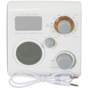 WCI Quality Multi-Function Waterproof AM/FM Bath And Shower Radio With Room Temperature Display And Alarm Clock – Line-In Aux For iPod And MP3 Player Speaker by Wci  http://www.60inchledtv.info/tvs-audio-video/radios/shower-radios/wci-quality-multifunction-waterproof-amfm-bath-and-shower-radio-with-room-temperature-display-and-alarm-clock-linein-aux-for-ipod-and-mp3-player-speaker-com/