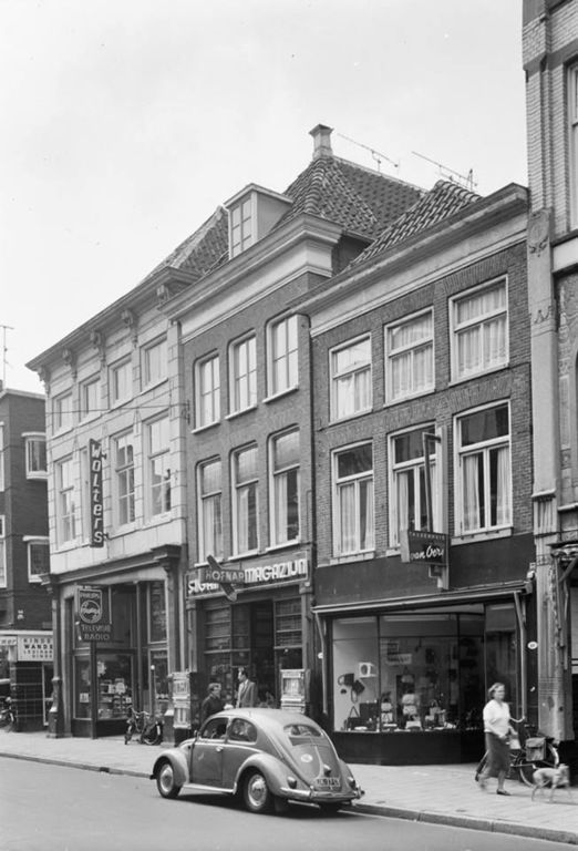 De Oosterstraat in 1966 - Foto's SERC