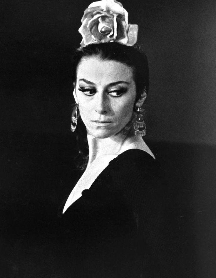 «Кармен», 1974 год The legendary Maya Plisetskaya