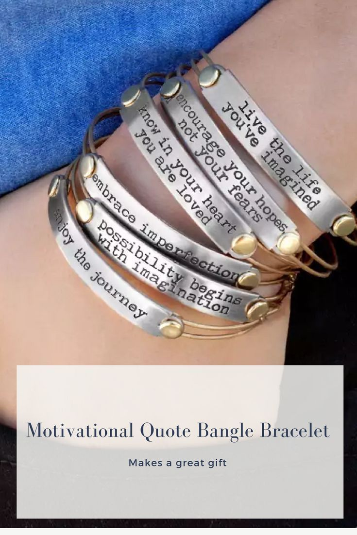Sweet Romance Inspirational Quote Motivational Message Bangle Bracelet Ad Bracelet Bangles Motivationalquotes Inspir Quote Bangles Bangles Bracelet Online